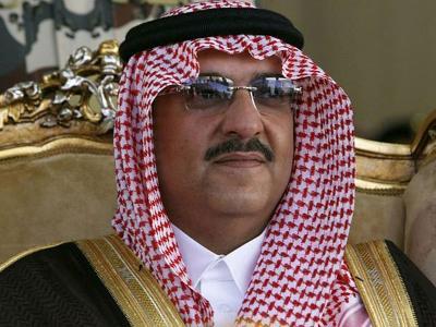 Saudi Crown Prince attends a meeting in Riyadh, Saudi Arabia.