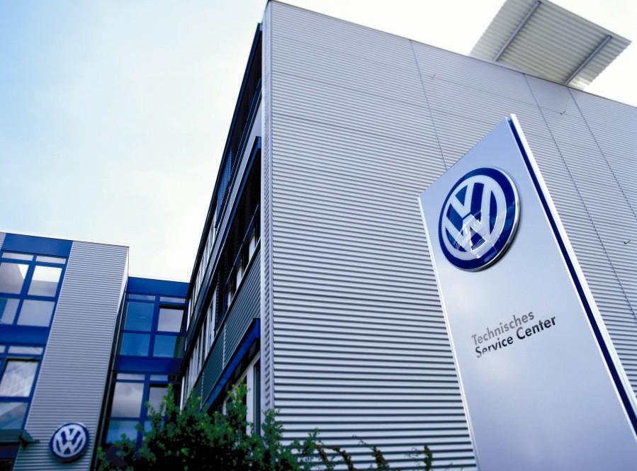 Photo: A Volkswagen service enter in U.S.