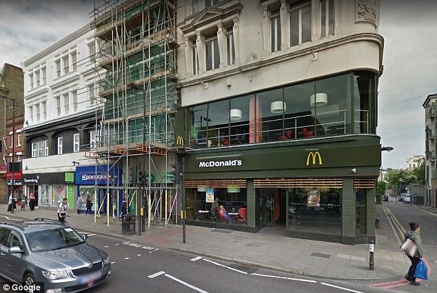 North London McDonald restaurant
