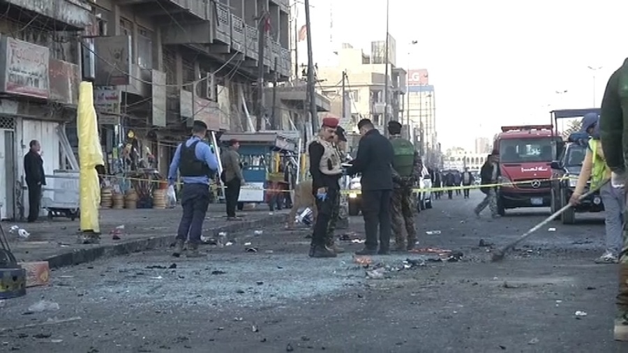 Multiple dead in Iraq twin suicide bombing