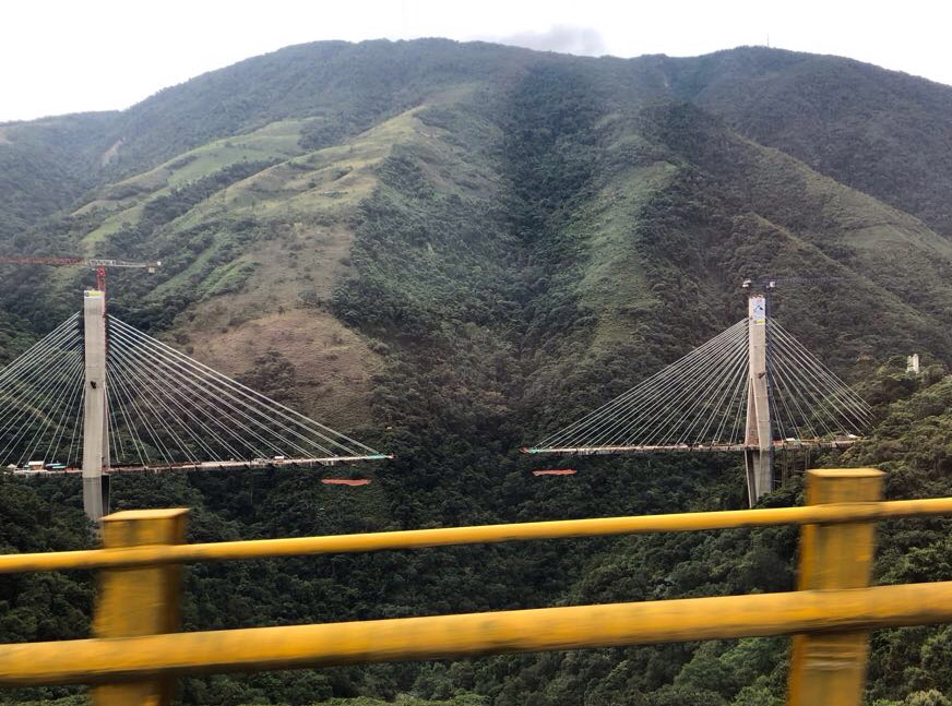 Central Colombia bridge