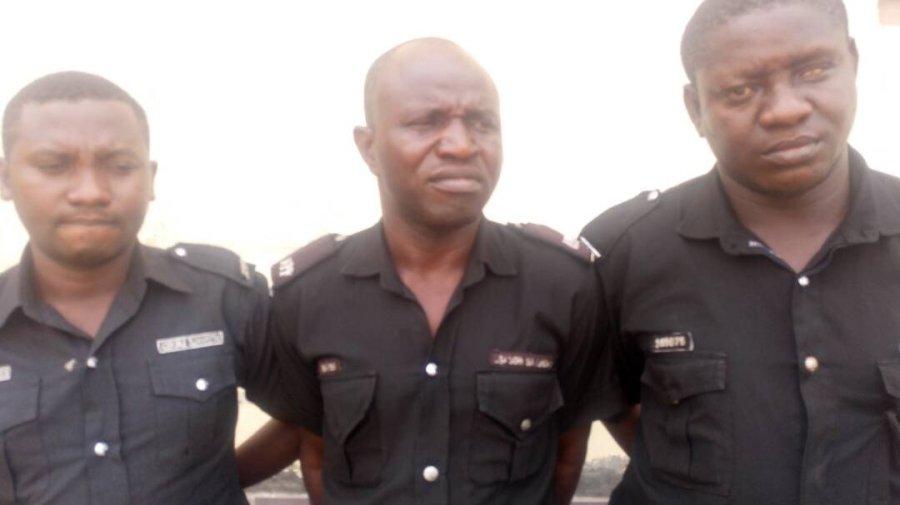 Dismissed Nigerian policemen
