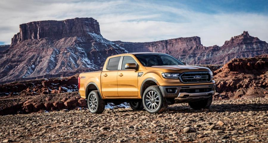 The 2019 Ford Ranger is pictured in this handout photo