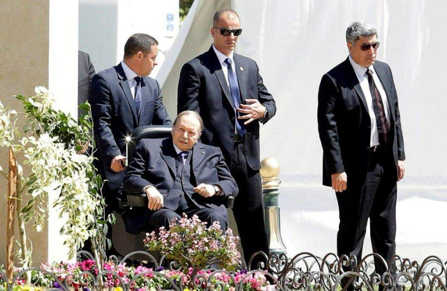 Algerian President Abdelaziz Bouteflika is seen in Algiers, Algeria.