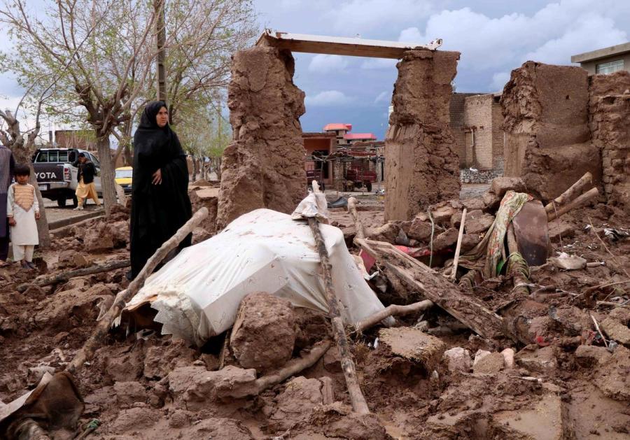 Afghan flash floods