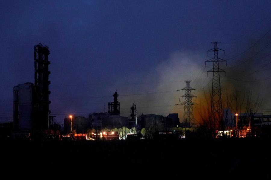 Chinese chemical plant explosion