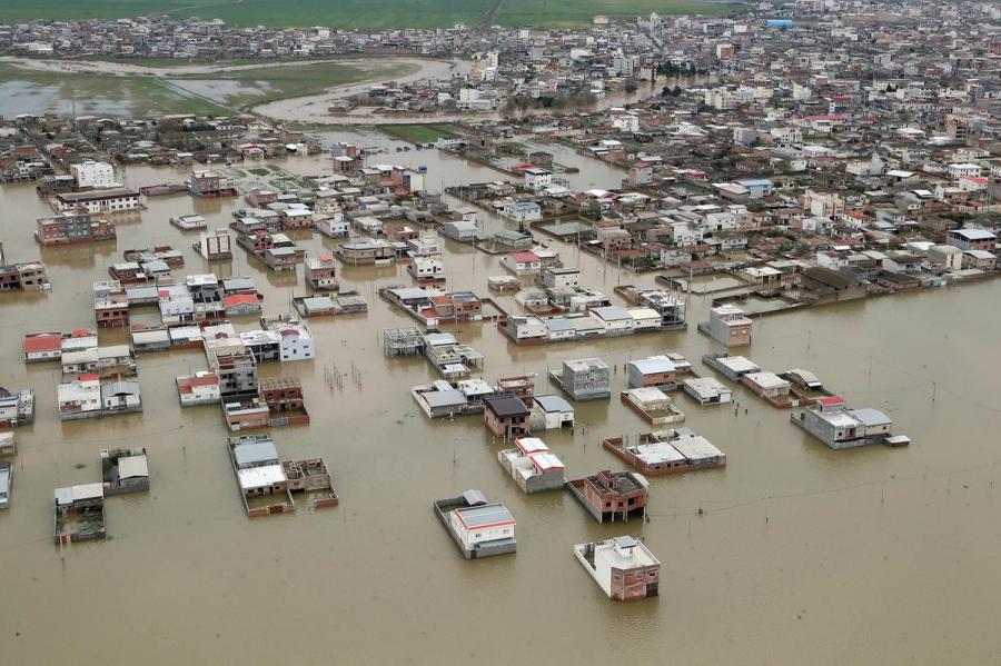 Iran flooding
