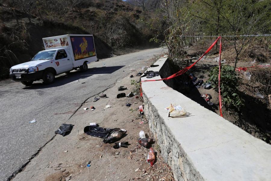 Mexico cargo truck accident