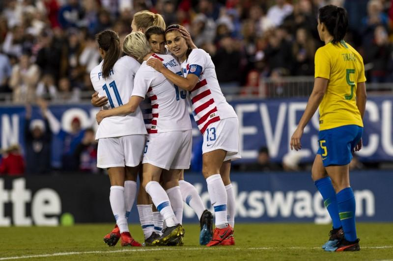 U.S. vs Brazil (Women)