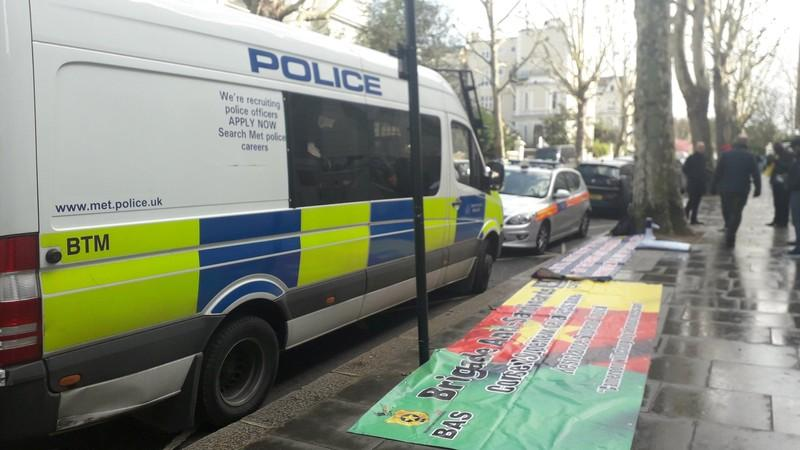 British police vehicle