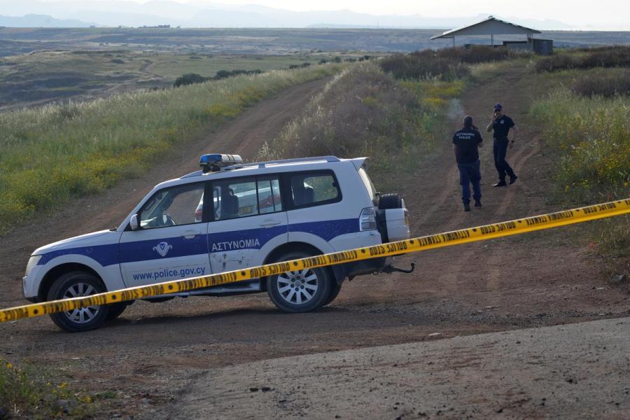 Cyprus crime scene