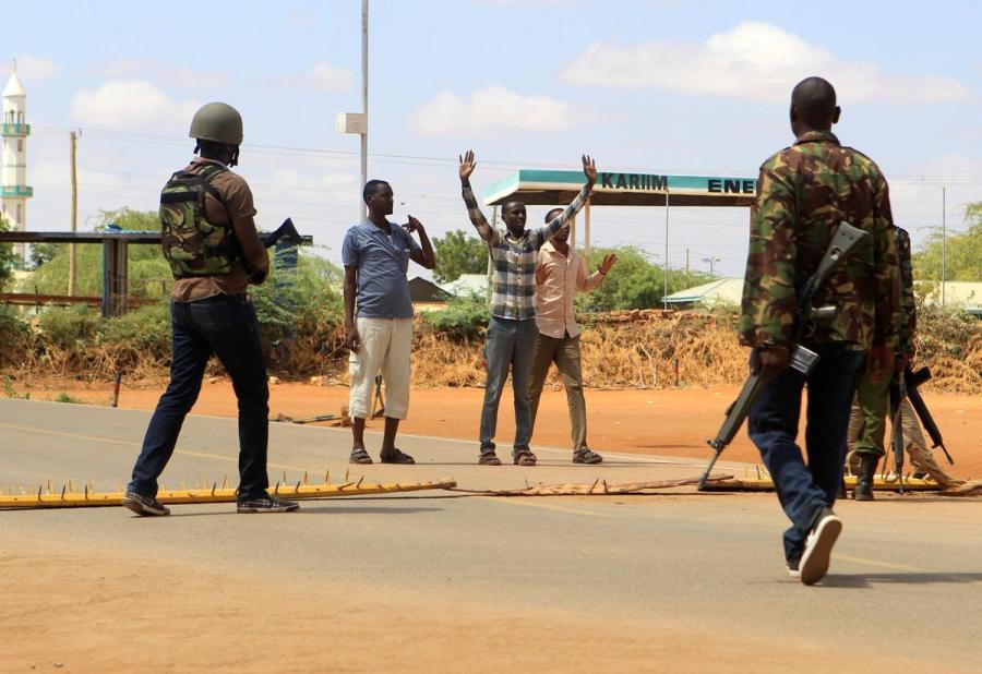 Kenyan roadblock