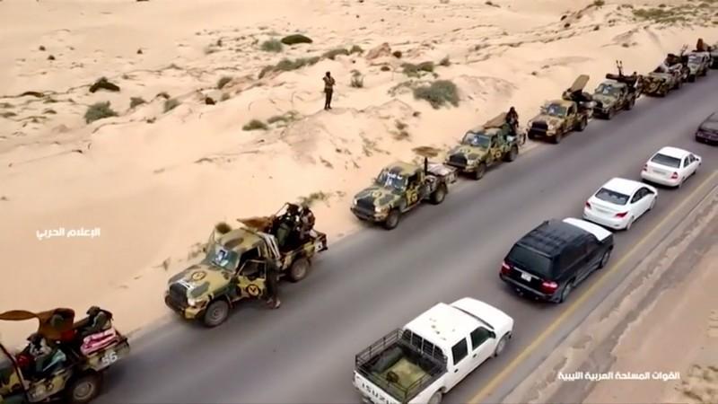 Libyan troops