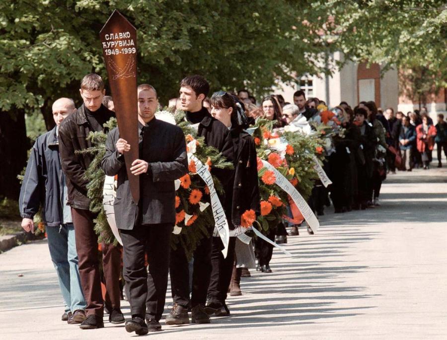 Slavko Curuvija funeral