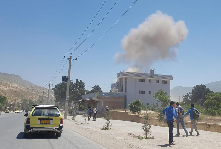 Afghan Taliban suicide bomb attack