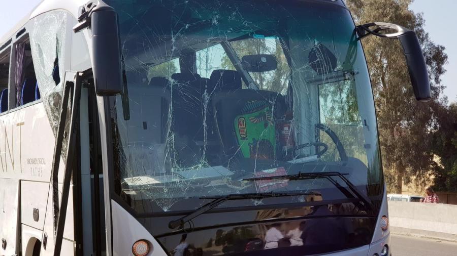 Egypt tour bus blast