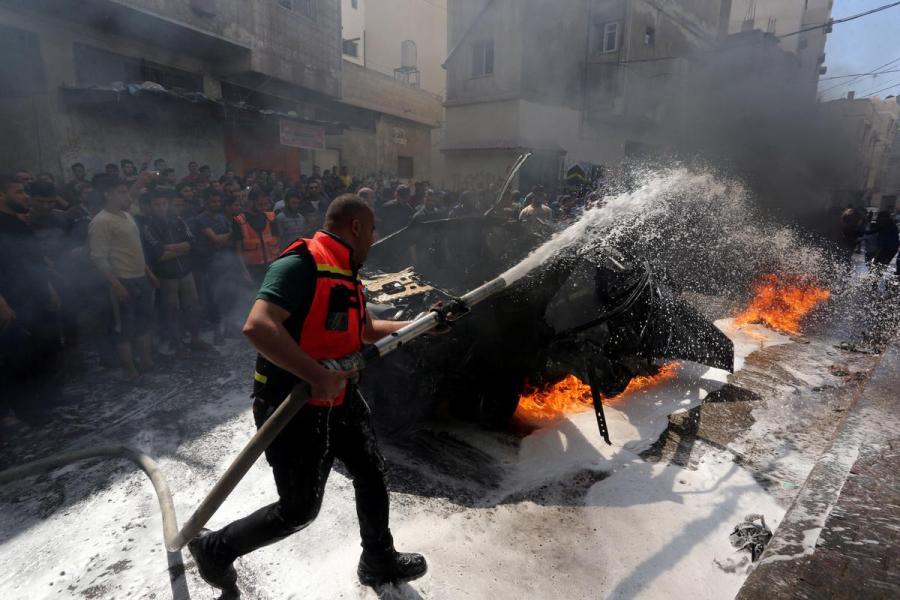 Israel Gaza fighting