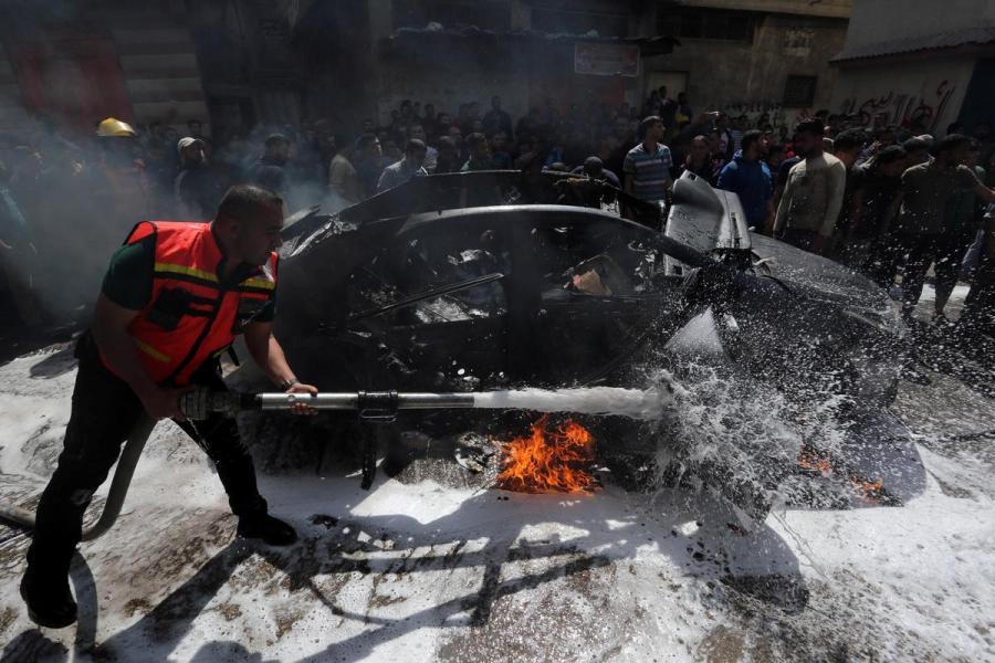 Israel Hamas commander strike
