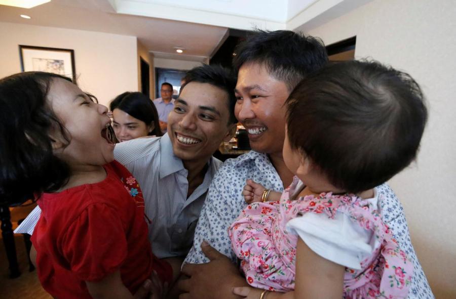 Reuters journalists released