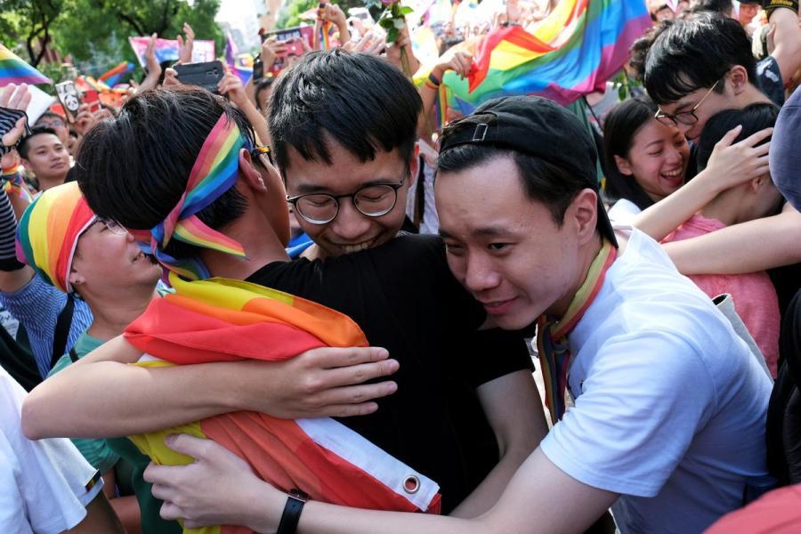 Taiwan LGBT rally