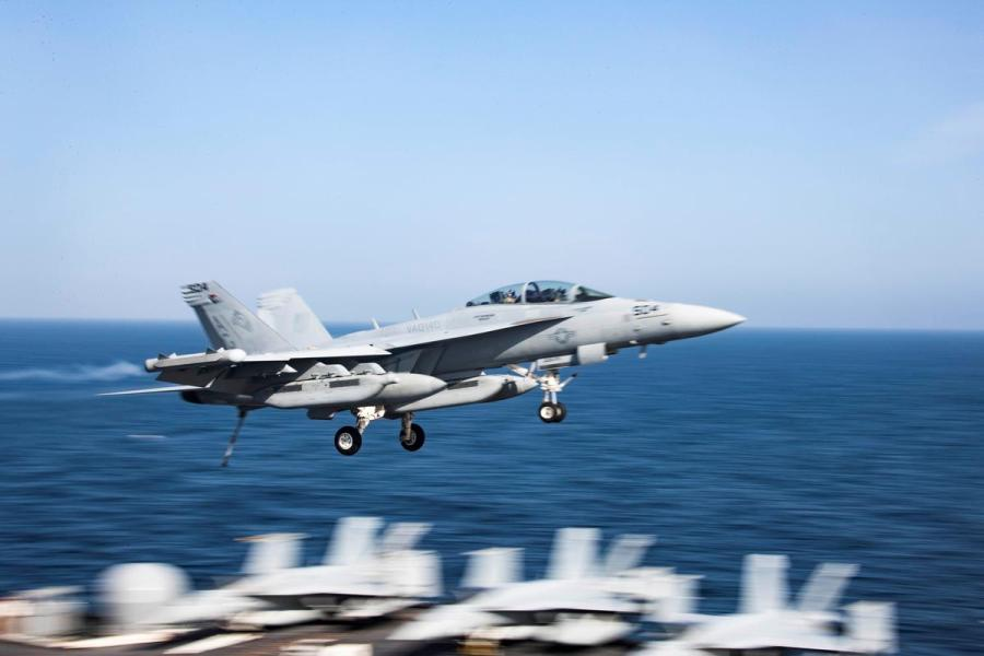 U.S. fighter jet