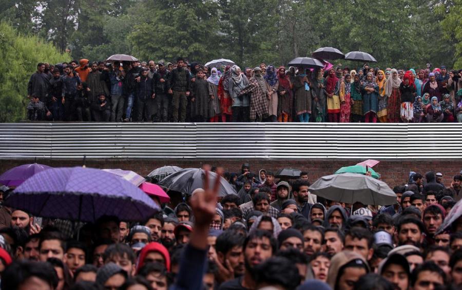 Zakir Musa funeral procession