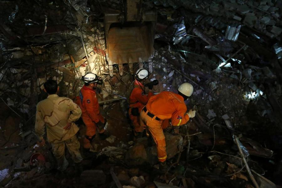 Cambodia rescue team