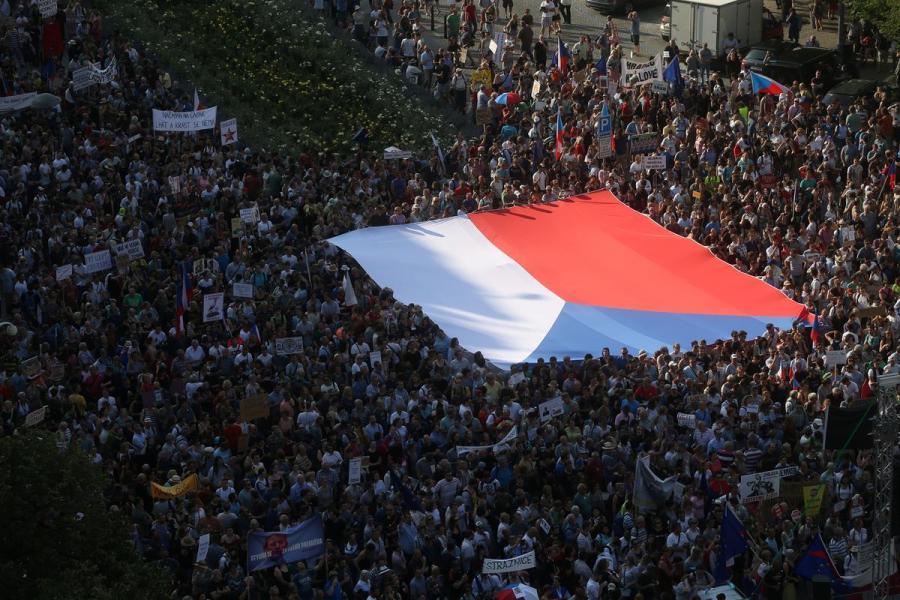 Czech protest1