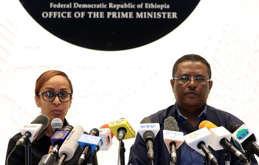 Ethiopia coup press conference