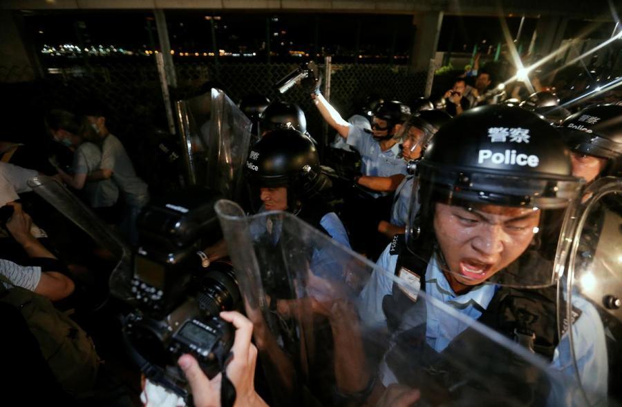 Hong Kong protest1