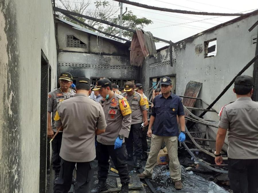 Indonesia factory fire