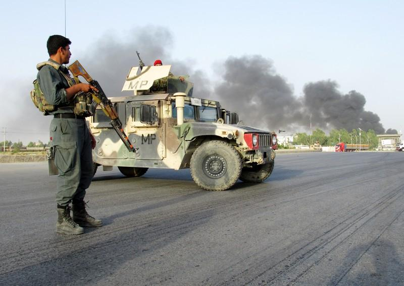 Afghan military police
