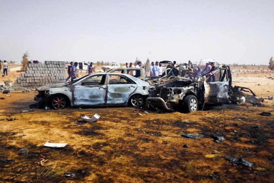 Libya car bomb attack