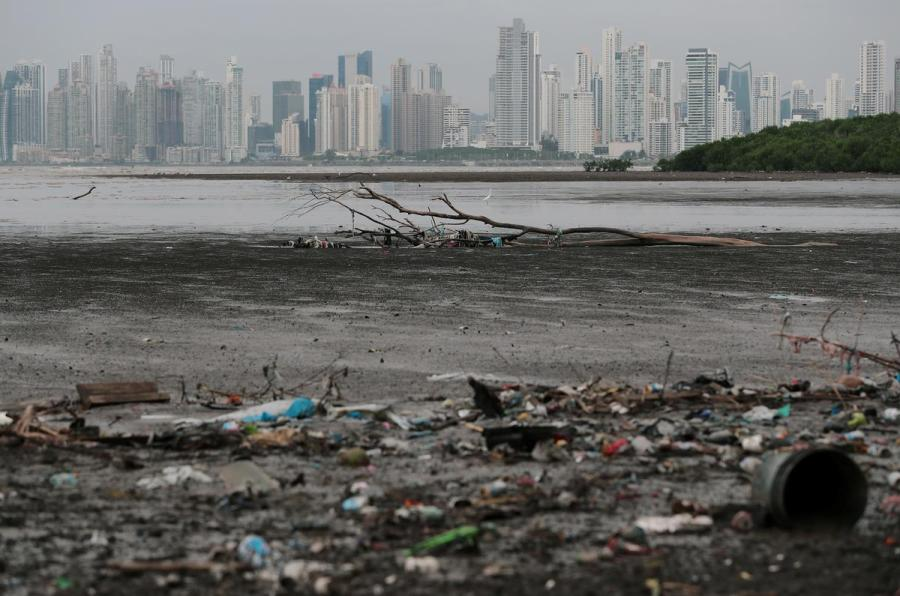 Panama plastic waste