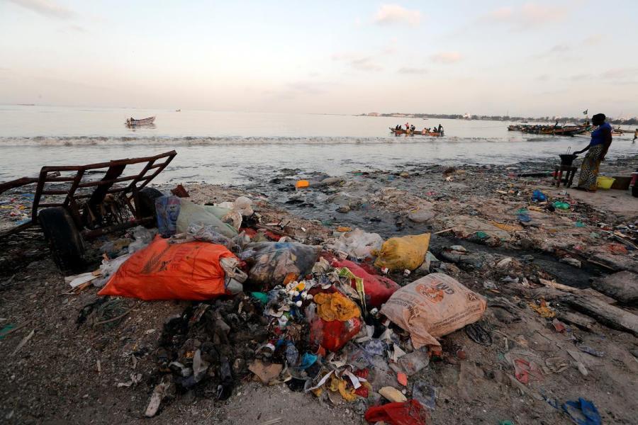 Senegal plastic waste