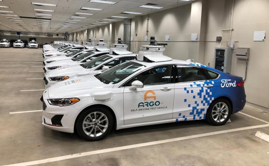 Ford autonomous sedans