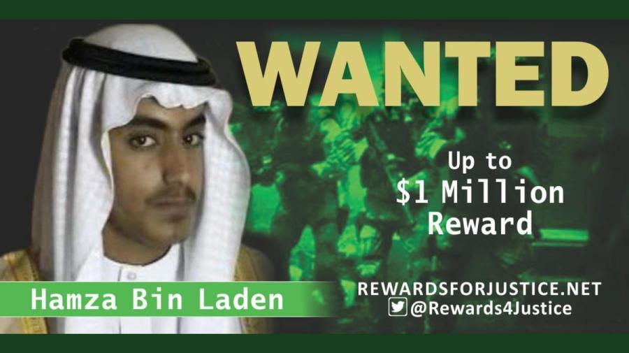 Hamza bin laden wanted poster