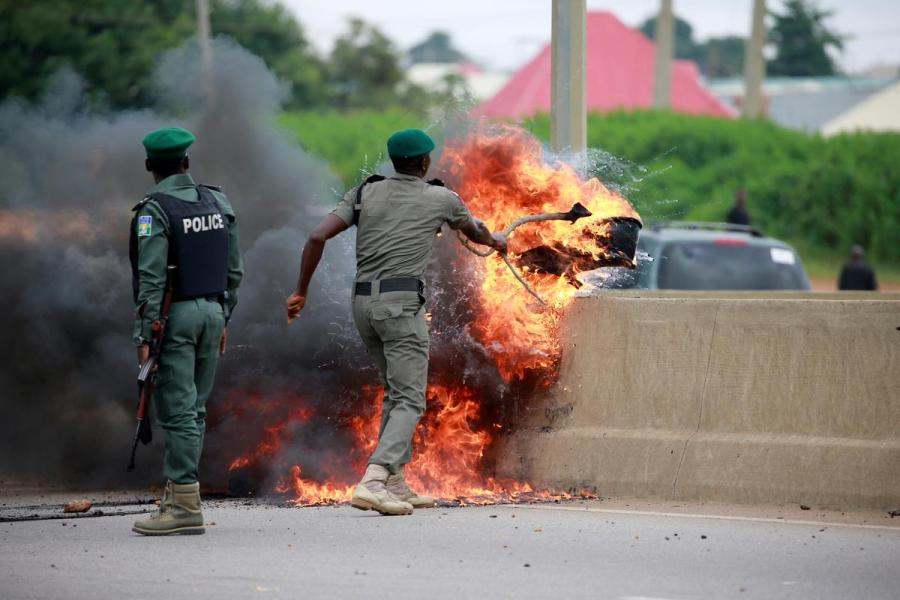 Nigeria SA xenophobia protests