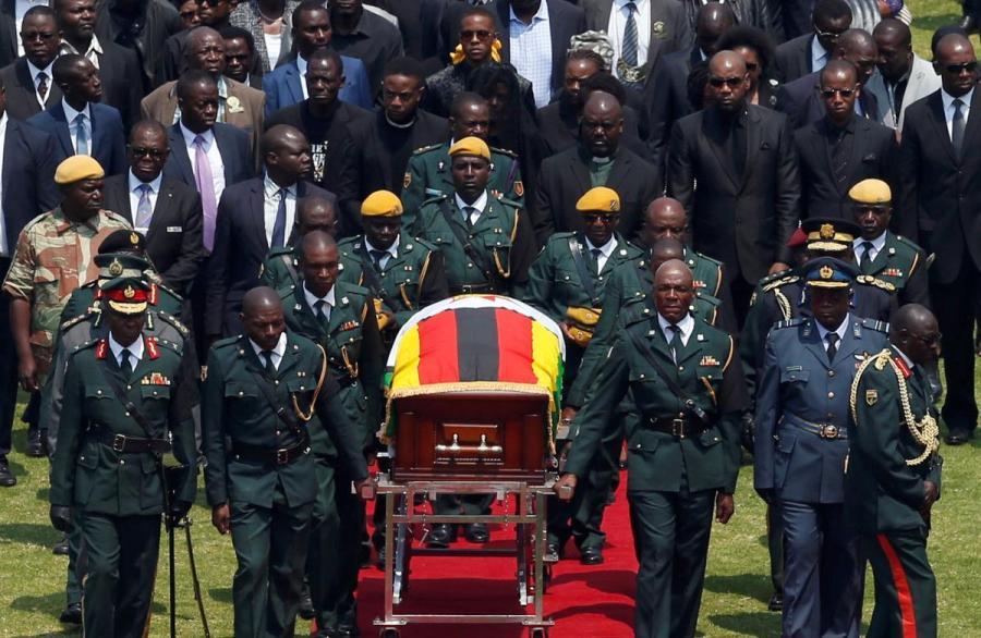 Robert Mugabe state funeral