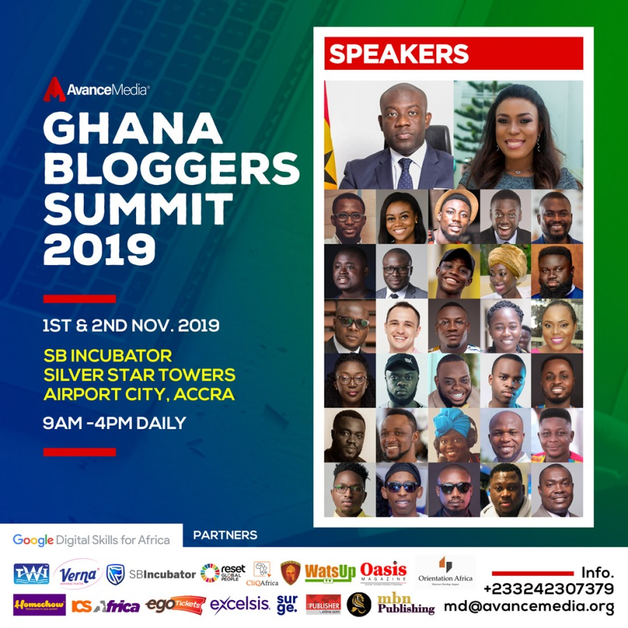 GHana Bloggers Summit Speakers