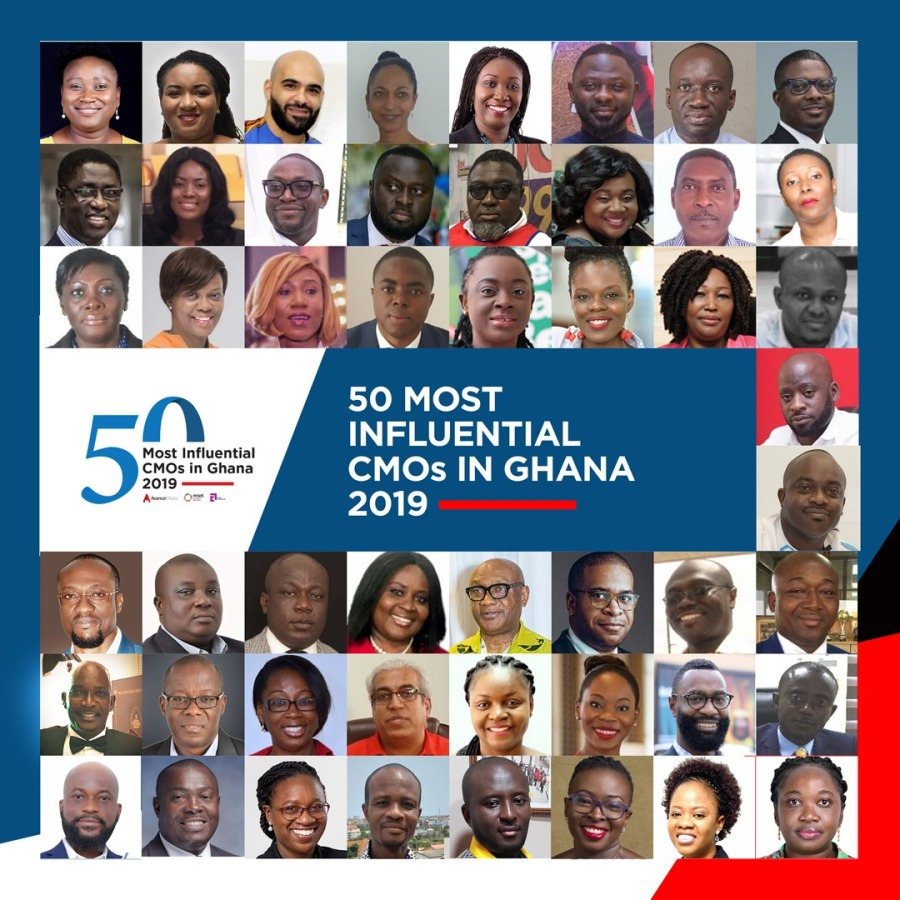 50 Most Influential CMOs in Ghana