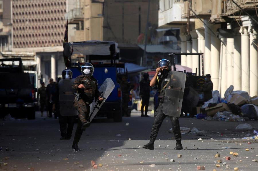 Baghdad protests1