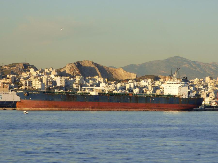 Greek oil tanker