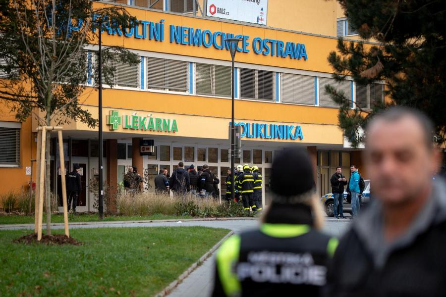 Czech hospital shooting1