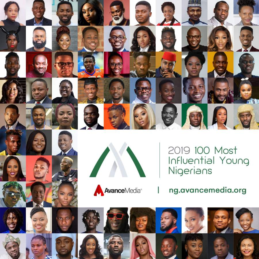 2019 100 Most Influential Young Nigerians - Collage (1)