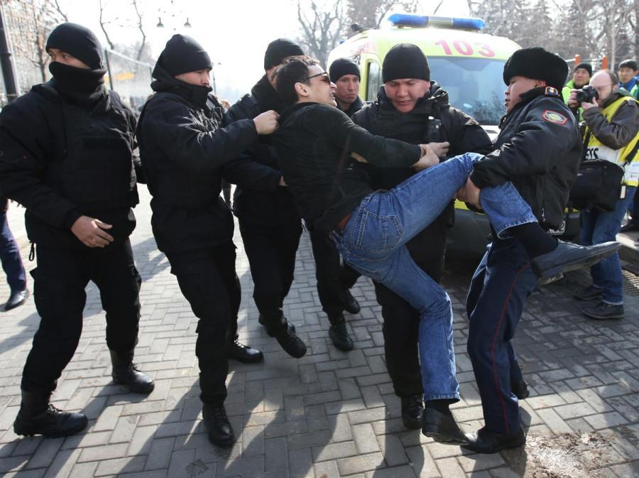 Kazakhstan protest1