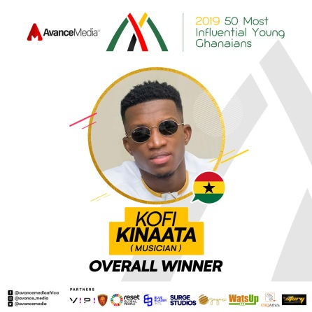 Overall Winner - 2019 50 Most Influential Young Ghanaians