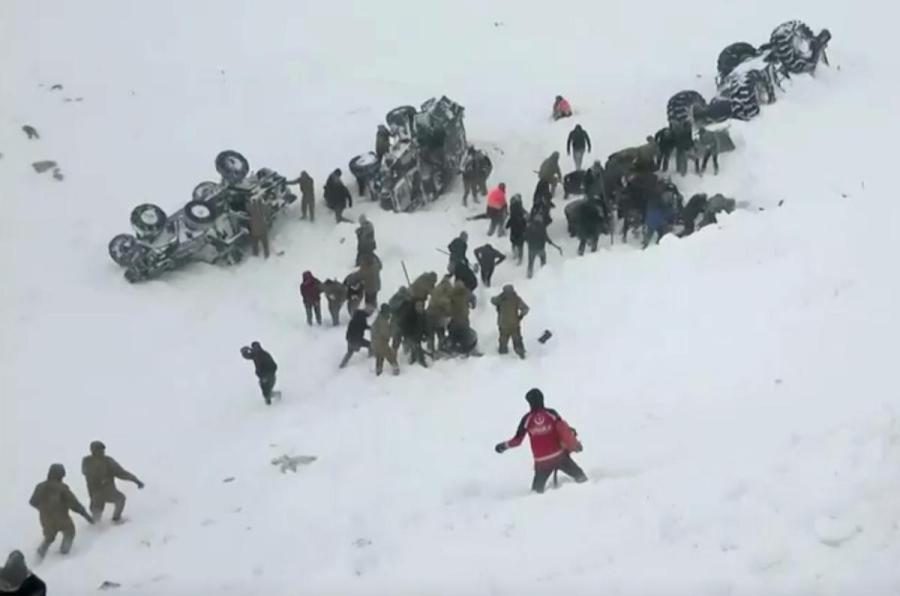 Turkey avalanche