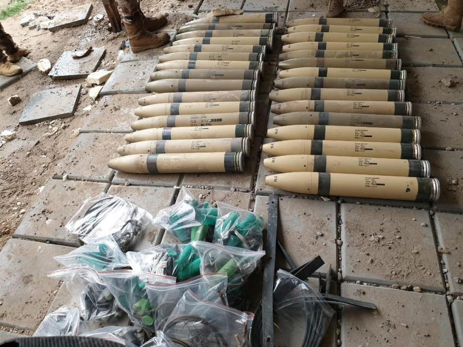 Iraq miltary camp attack1