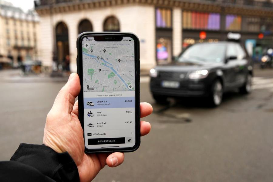 Uber app